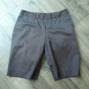 MOSSIMO Stretch Bermuda Brown Shorts